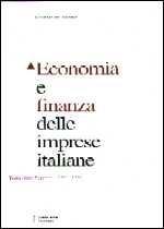 Immagine di Economia e finanza delle imprese italiane. XIII Rapporto 1982-1998