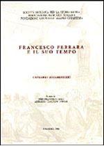 Immagine di Francesco Ferrara e il suo tempo. Catalogo documentario