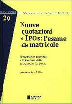 Immagine di Nuove quotazioni e Ipos: l`esame alle matricole