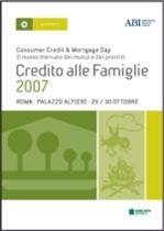 Immagine di Credito alle Famiglie 2007. Atti del convegno ABI del 29 e 30 ottobre 2007