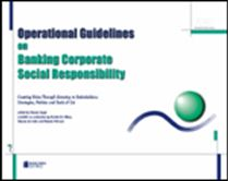 Immagine di Operational Guidelines on Banking Corporate Social Responsability