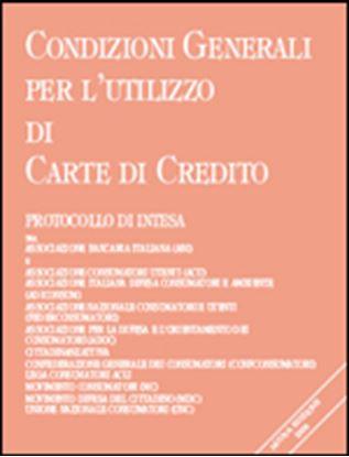 Immagine di Condizioni Generali per l'utilizzo di Carte di Credito