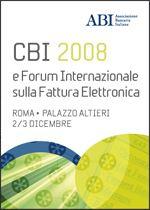 Immagine di CBI 2008 - Atti del convegno ABI del 2 e 3 dicembre 2008