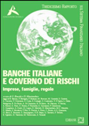 Immagine di Banche italiane e governo dei rischi