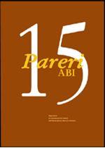 Immagine di Pareri ABI n. 15/2000
