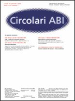 Immagine di Circolari ABI n. 1 del 16 gennaio 2006