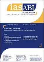 Immagine di Ias ABI BlueBook n.25 del 27 marzo 2006