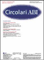 Immagine di Circolari ABI n. 34 del 21 settembre 2009