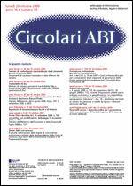 Immagine di Circolari ABI n. 39 del 26 ottobre 2009