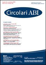 Immagine di Circolari ABI n. 42 del 16 novembre 2009