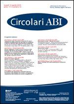Immagine di Circolari ABI n. 13 del 12 aprile 2010