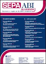 Immagine di SEPA ABI BlueBook n. 7 del 28 novembre 2007