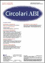 Immagine di Circolari ABI n. 14 del 21 aprile 2008