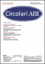Immagine di Circolari ABI n. 16 del 5 maggio 2008