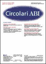 Immagine di Circolari ABI n. 37 del 13 ottobre 2008