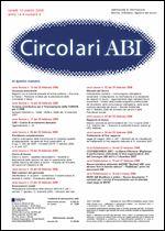 Immagine di Circolari ABI n. 8 del 10 marzo 2008