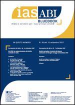 Immagine di Ias ABI BlueBook n.36 del 10 settembre 2007