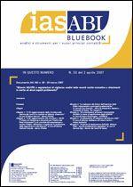 Immagine di Ias ABI BlueBook n.33 del 2 aprile 2007