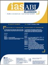 Immagine di Ias ABI BlueBook n.40 del 6 ottobre 2008