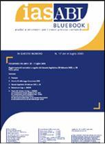 Immagine di Ias ABI BlueBook n. 17 del 4 luglio 2005