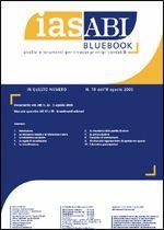 Immagine di Ias ABI BlueBook n. 19 dell'8 agosto 2005