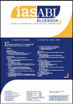 Immagine di Ias ABI BlueBook n. 20 del 24 ottobre 2005