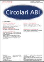 Immagine di Circolari ABI n. 39 del 31 ottobre 2005