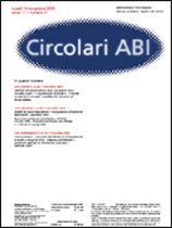 Immagine di Circolari ABI n. 41 del 14 novembre 2005