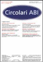 Immagine di Circolari ABI n. 46 del 19 dicembre 2005