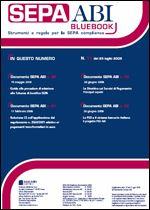 Immagine di SEPA ABI BlueBook n. 11 del 25 luglio 2008
