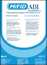 Immagine di MiFID ABI BlueBook n° 10