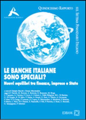 Immagine di Le Banche Italiane sono speciali? Nuovi equilibri in finanza: le banche, le imprese e lo stato