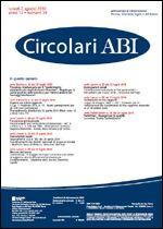 Immagine di Circolari ABI n. 29 del 2 agosto 2010