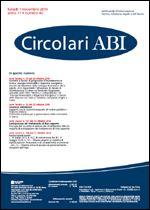 Immagine di Circolari ABI n. 40 del 1 novembre 2010