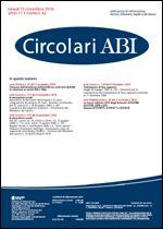 Immagine di Circolari ABI n. 42 del 15 novembre 2010