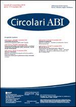 Immagine di Circolari ABI n. 43 del 22 novembre 2010