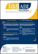 Immagine di Ias ABI BlueBook n.57 del 14 febbraio 2011