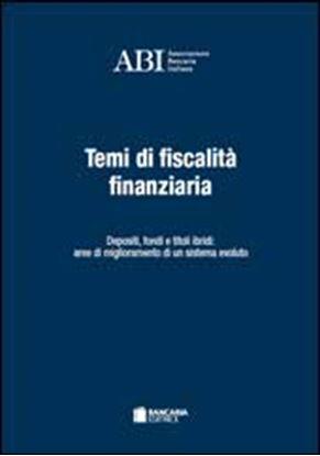 Immagine di Temi di fiscalità finanziaria