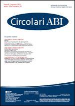 Immagine di Circolari ABI n. 29 del 1 agosto 2011