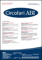 Immagine di Circolari ABI n. 41 del 7 novembre 2011