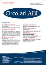 Immagine di Circolari ABI n. 48 del 30 dicembre 2011