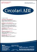 Immagine di Circolari ABI n. 1 del 16 gennaio 2012