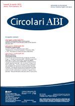 Immagine di Circolari ABI n. 14 del 16 aprile 2012