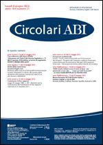 Immagine di Circolari ABI n. 21 del 4 giugno 2012