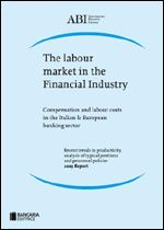 Immagine di The labour market in the Financial Industry (2009 report)
