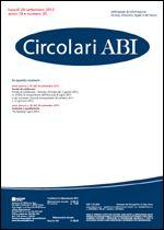 Immagine di Circolari ABI n. 35 del 24 settembre 2012