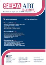 Immagine di SEPA ABI BlueBook N. 24 del 30 luglio 2012