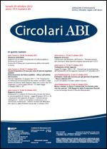 Immagine di Circolari ABI n. 40 del 29 ottobre 2012