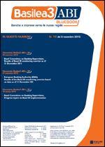 Immagine di Basilea3 ABI BlueBook n.18 dell'8 novembre 2012