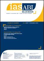 Immagine di Ias ABI BlueBook n. 64 dell'11 dicembre 2012